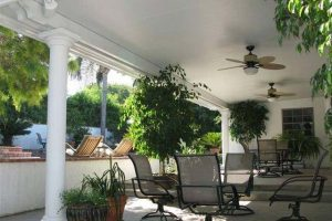 Solid Patio Cover at Home in Hawaii