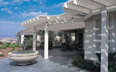 Lattice Patio Cover by Windows Hawaii