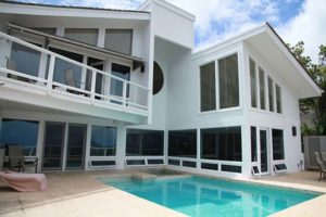Windows Install on Contemporary Home in Hawaii