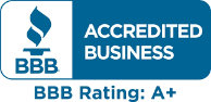 Accredited Business – BBB Rating A+