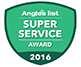 Angie's Super Service for 2016