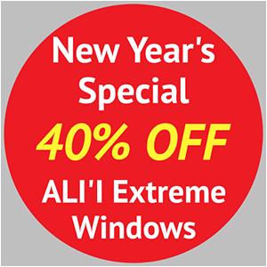 40 Percent Off on Windows