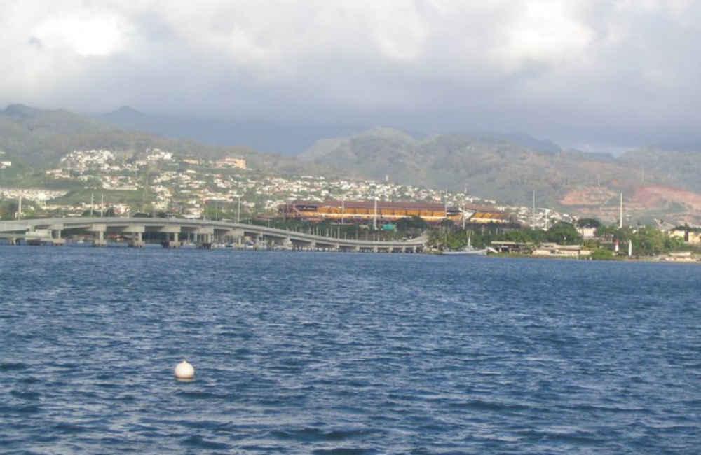 Aloha Stadium in Aiea, HI