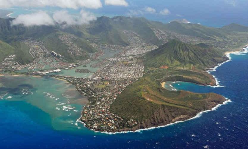 Hawaii KA Arial View